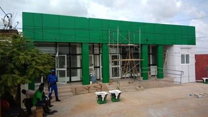 Projet de construction d'une agence de la BOA Cinkassé