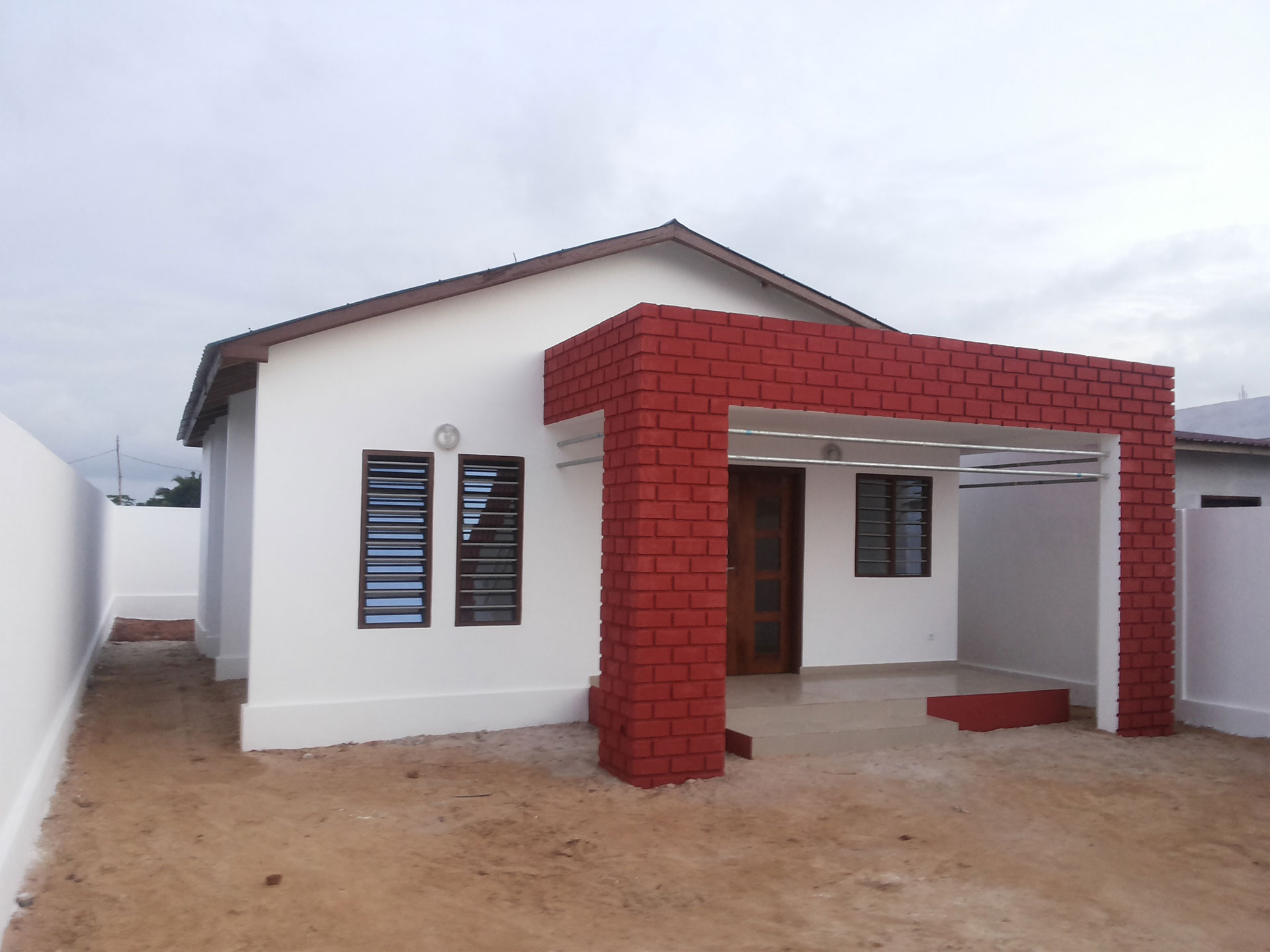 Projet de construction d'une villa pour le jeu MOOV CONSO