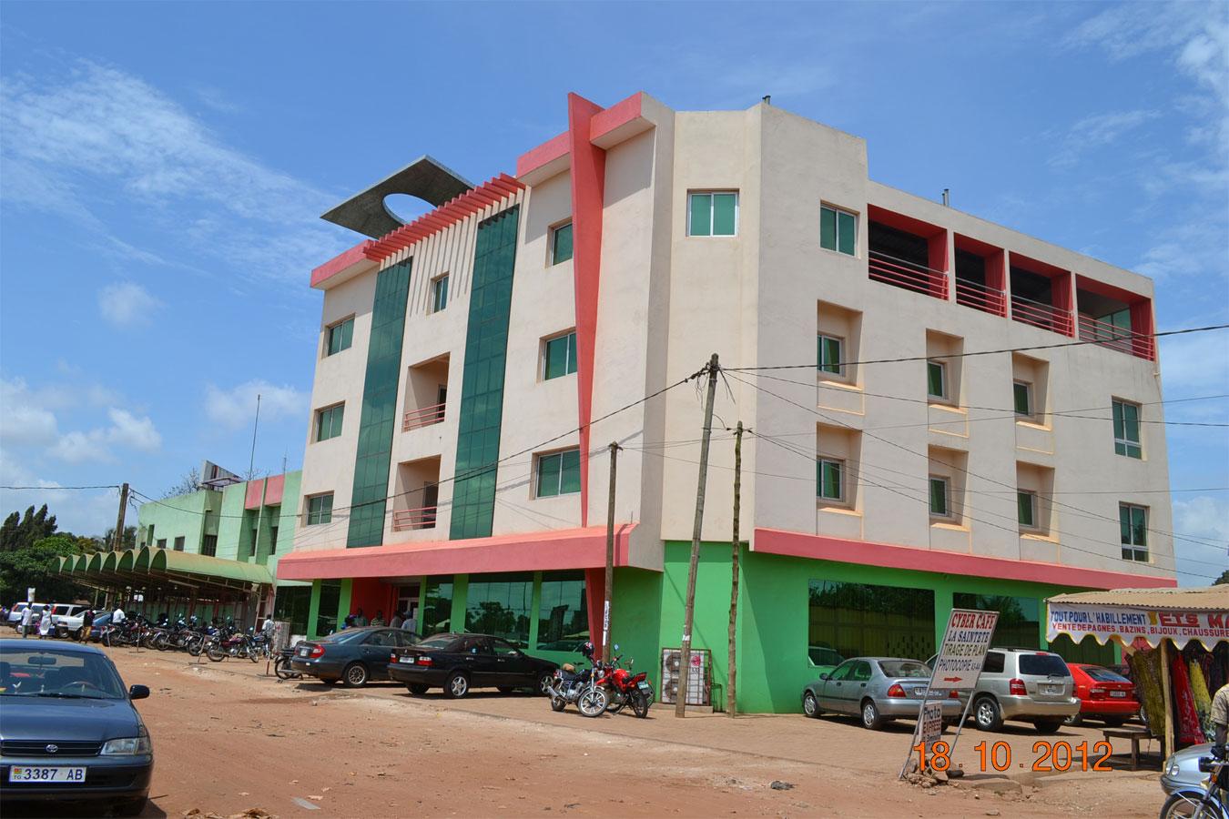 Projet d'extension d'un bâtiment annexe au siège de la MAFUCECTO à Atikoumé