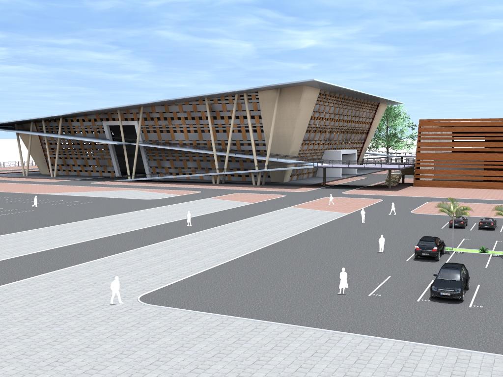 Projet de contrôle et de surveillance des travaux de  construction de mur de clôture et d'un parking automobile couvert